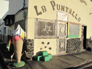 La Puntilla home made ice cream shop