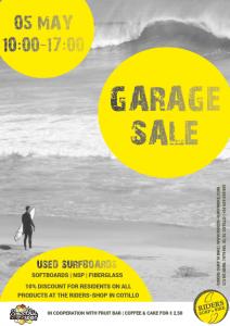 Surfboard Sale at Riders in El Cotillo
