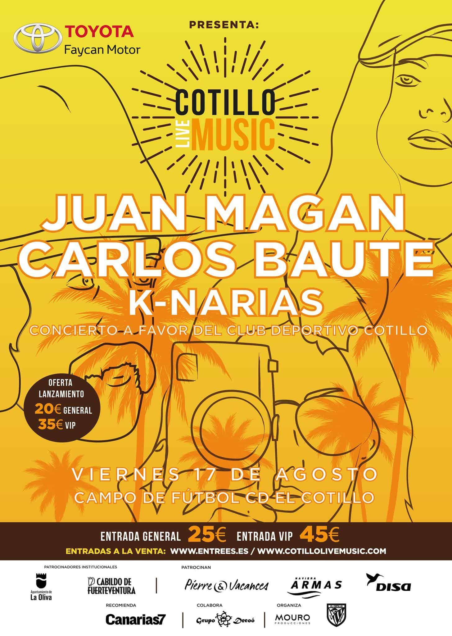 Cotillo Live Music