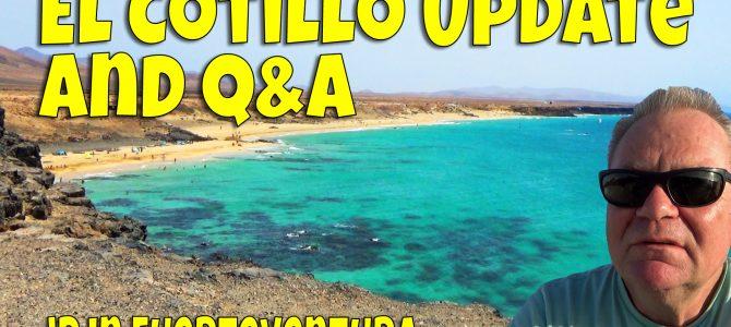 El Cotillo Q&A and Walkabout Video