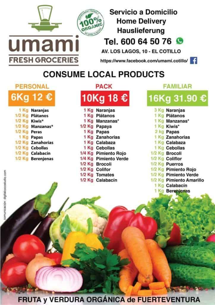 Umami Fruit and Vegetable Shop